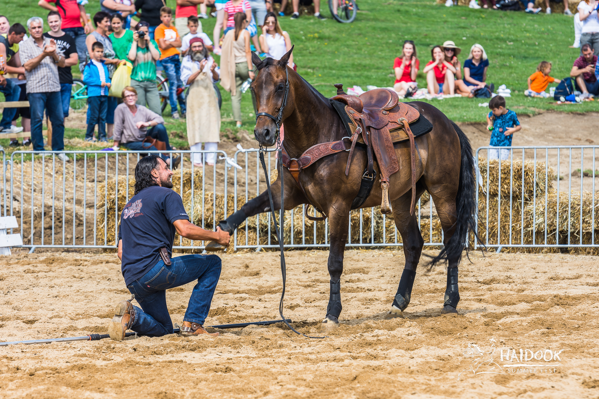 Denis Stefan si calul Uma - credit foto Catalin Nenciu